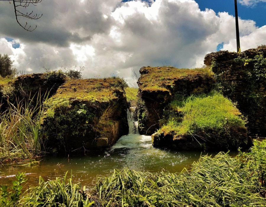 barragem romana pêgo da moura